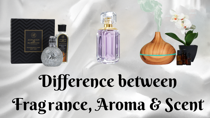 Difference Between Fragrance, Aroma & Scent