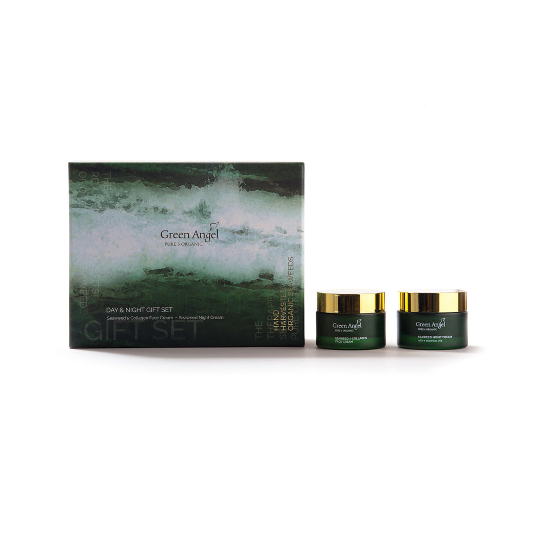 Day & Night Gift Set – Seaweed Collagen face cream & Seaweed Night Cream