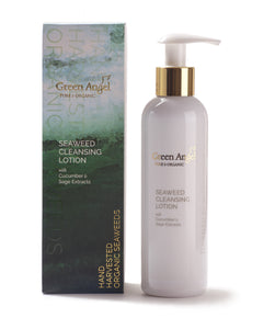 Seaweed Cleansing Lotion With Cucumber & Sage Extracts