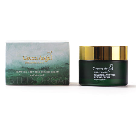 Seaweed & Tea Tree Rescue Cream with Vitamin E
