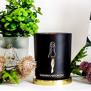 Pink Champagne - Luxury Wood Wick Candle