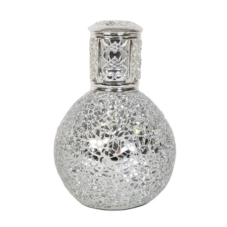 Silver Fragrance Lamp- Large