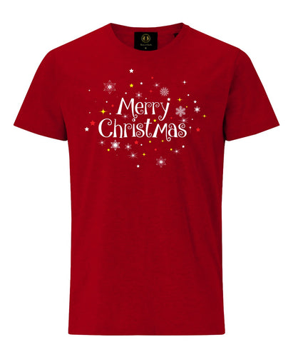 Merry Christmas T-Shirt- Red