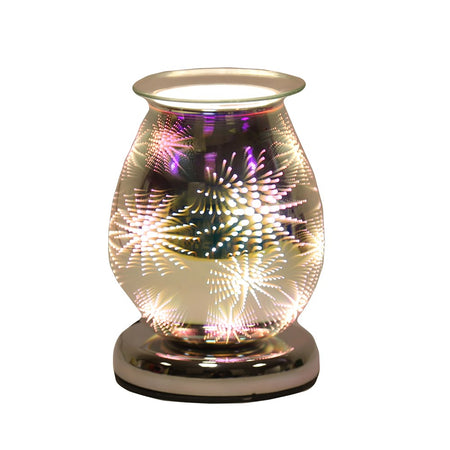 Oval 3D Electric Wax Melt Burner - Firework