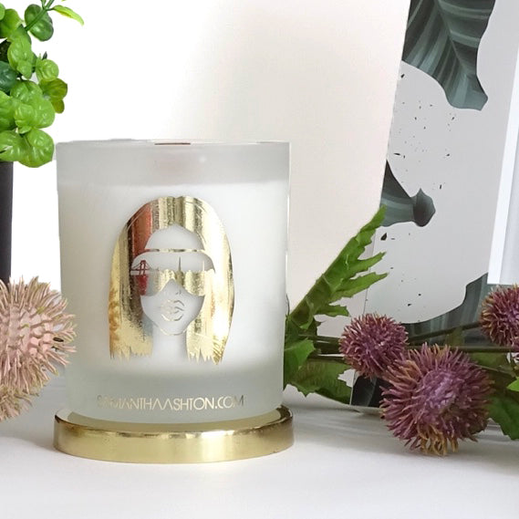 Citrus Bamboo - Luxury Wood Wick Candle