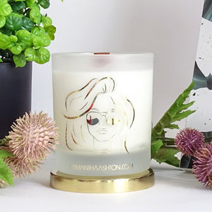 Violet Rain - Luxury Wood Wick Candle