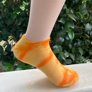 Hand Dyed Bamboo ANKLE Socks