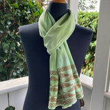 Ohe Kapala Rayon Wrap in Light Avocado