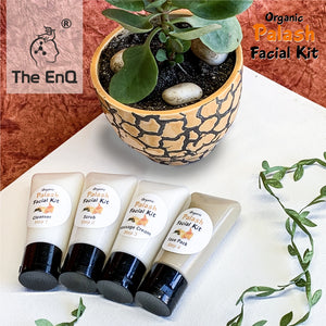 The EnQ Organic Palash Facial Kit 280gm