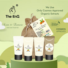 Load image into Gallery viewer, The EnQ Neem & Turmeric Anti Acne Facial Kit 280gm