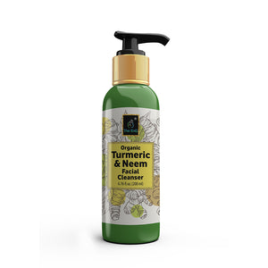 The EnQ Organic Turmeric & Neem Facial Cleanser