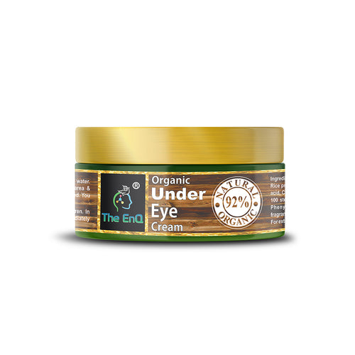 The EnQ Natural Organic Under Eye Cream