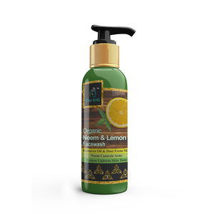 The EnQ Organic Neem & Lemon Face Wash