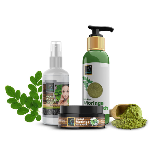 Moringa Face Pack + Moringa Face Wash +Moringa Day Cream
