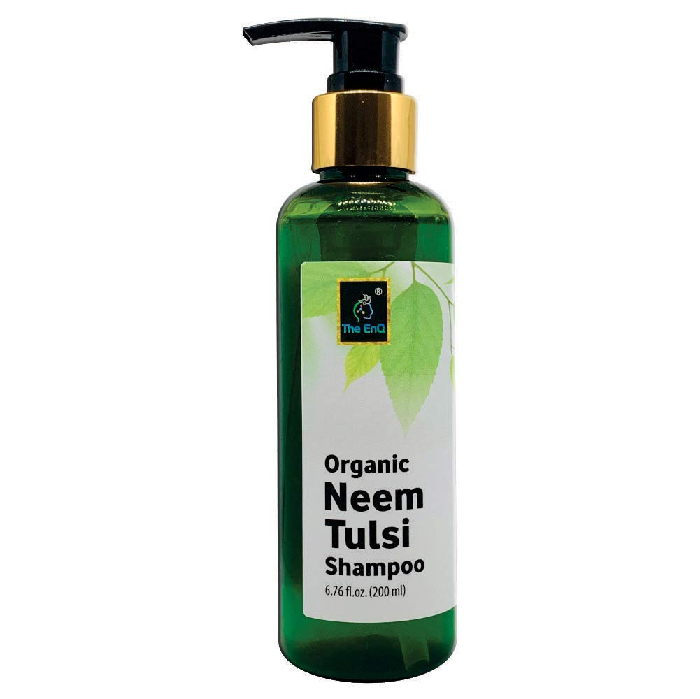 The EnQ Organic Neem Tulsi Shampoo 200ml