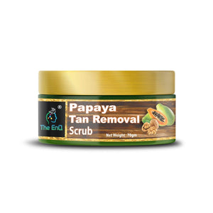 "The EnQ Papaya Tan Removal ""GENTLE AND MILD "" Scrub"
