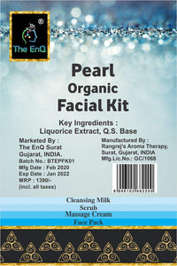 The EnQ Pearl Organic Facial Kit 280gm