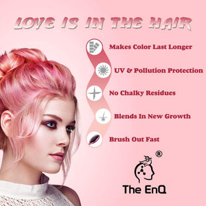The EnQ Colour Protective Shampoo 200 ml For All Types Of Coloured Hairs & Natural Hairs
