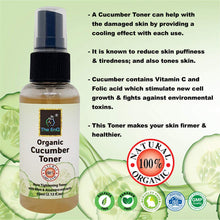 Load image into Gallery viewer, The EnQ Organic Cucumber Pore Tightening Toner