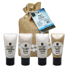 Load image into Gallery viewer, The EnQ Pearl Organic Facial Kit 280gm