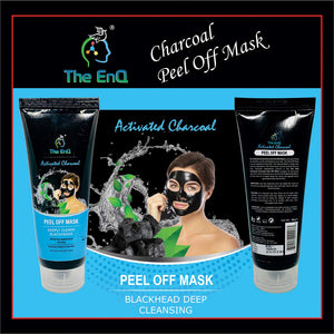 The EnQ Activated Charcoal Peel Off Mask 80g