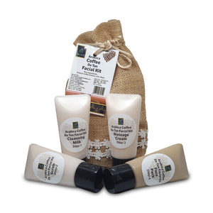 The EnQ Arabica Coffee De Tan Facial Kit