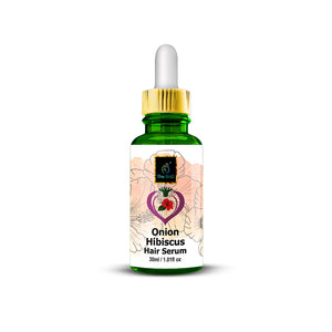 The EnQ Onion Hibiscus Hair Serum - Anti Hair Fall Serum