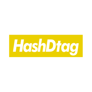 HashDtag colors-sticker YELLOW