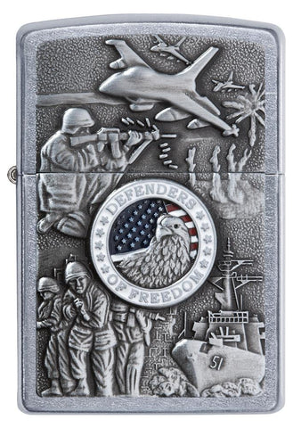 24457, United States Military Joined Forces, Emblem Design, Street Chrome Finish, Classic Case