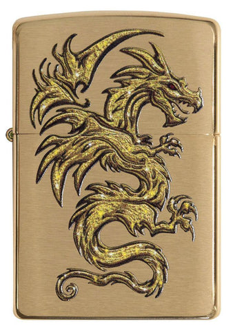 29725 - Dragon Design Lighter - Front View