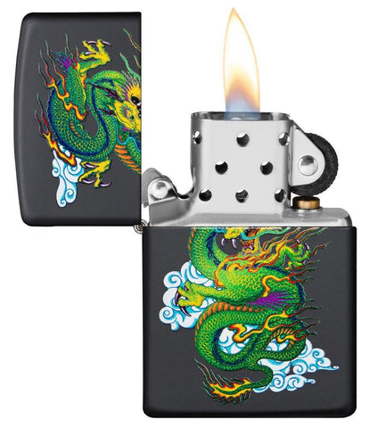 Black Matte Dragon Lighter