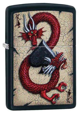 Dragon Ace Design Lighter