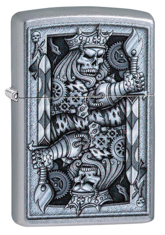 Steampunk King Spade Lighter