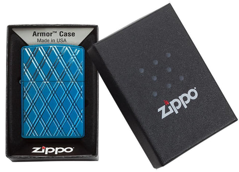 Armor® High Polish Blue Diamonds in its packaging