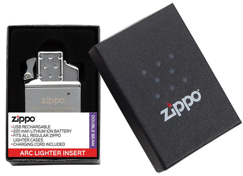 Arc Lighter Insert in packaging