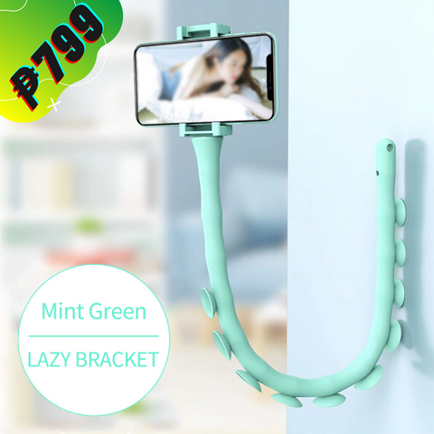 Lazy Bracket Phone Holder with 3 in 1 Cable | Foresian
