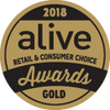 2018 Alive Consumer Choice Awards Gold