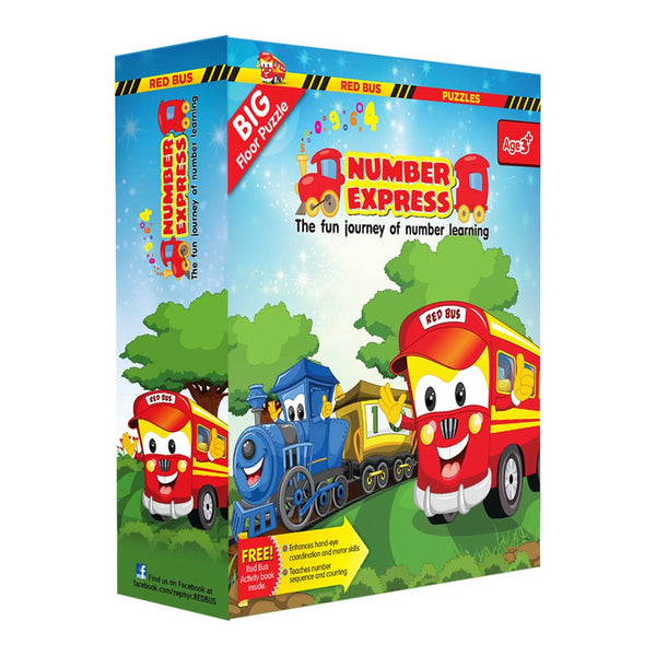 Red Bus- Number Express