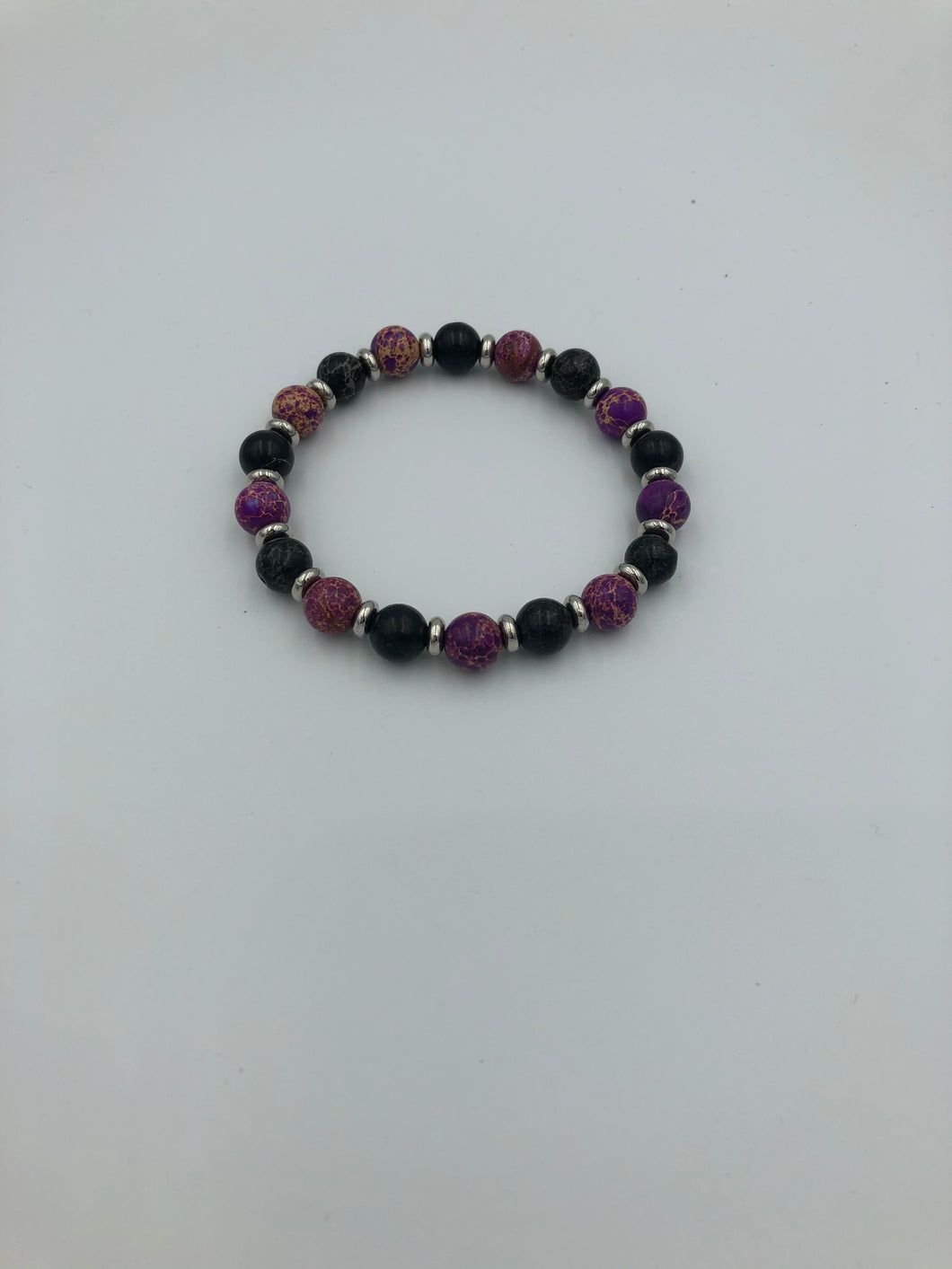 Women Purple  Amethyst Bracelet