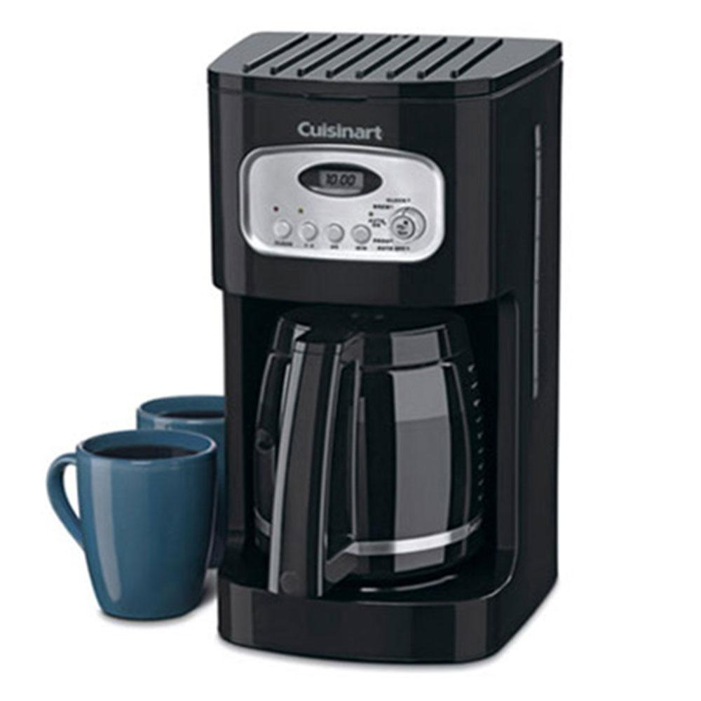 Cuisinart 12-Cup Programmable Coffeemaker in Black/Stainless