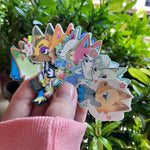 [XOLUNA.PH] XO Animal Crossing: New Horizons Mini Wolf Sticker Pack