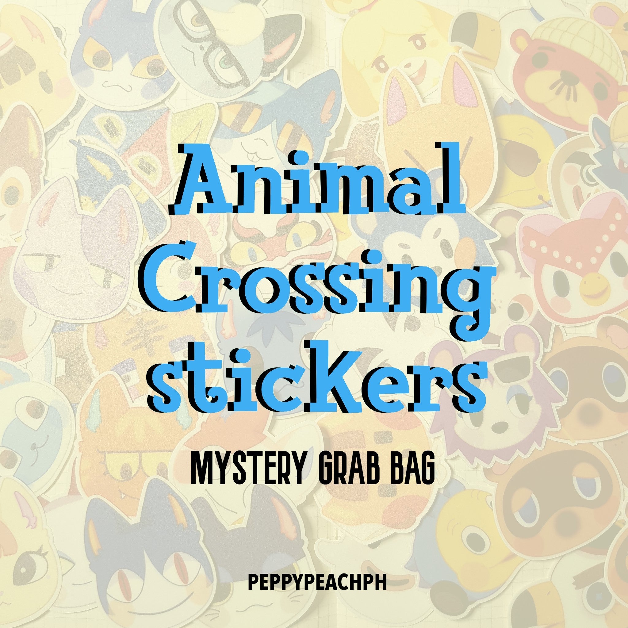 [Peppy Peach PH] Animal Crossing: New Horizons Mystery Sticker Grab Bags