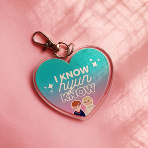 [Fairyslush] I Know, HyunKnow Keyring