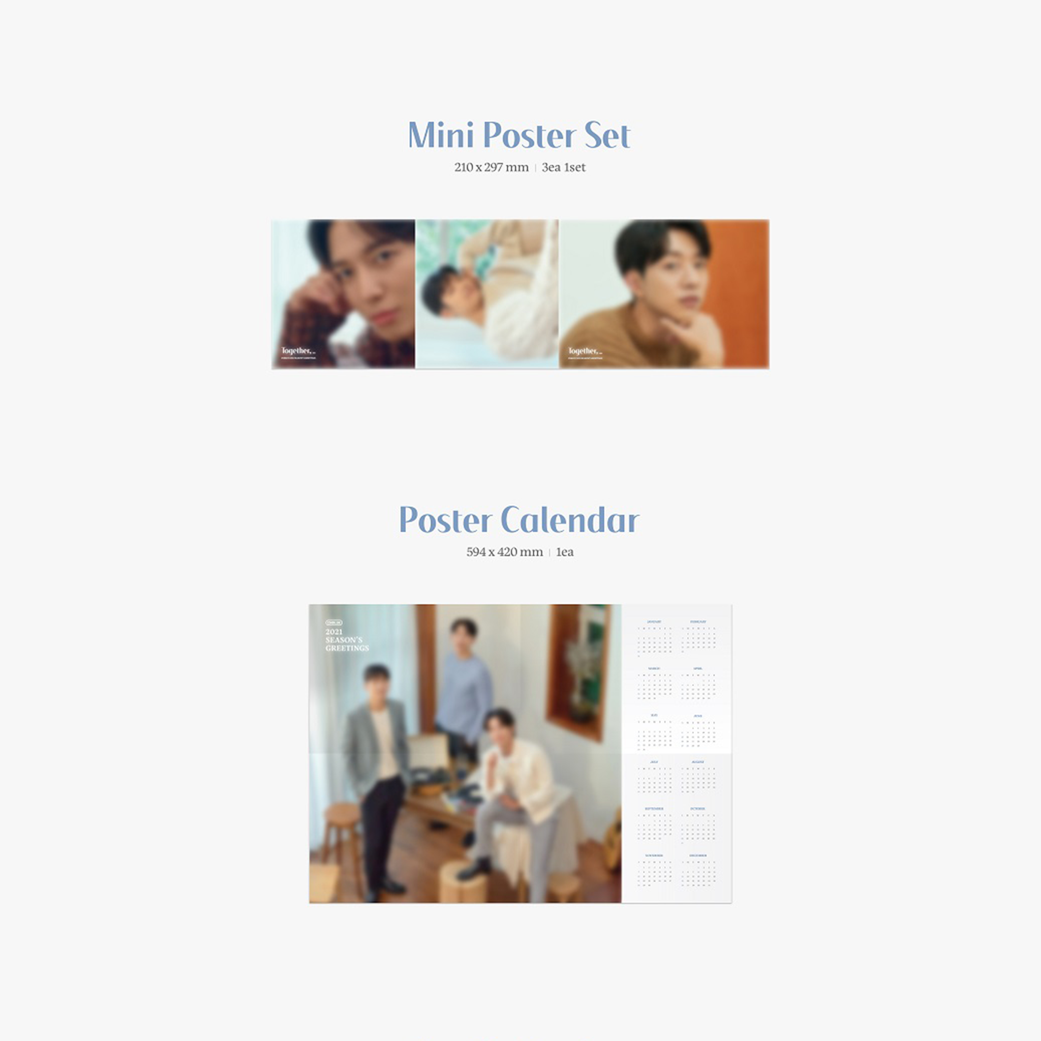 [PRE-ORDER] CNBLUE Season's Greetings 2021 - TOGETHER