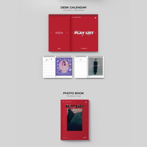 [PRE-ORDER] CHUNG HA Season's Greetings 2021: Play List