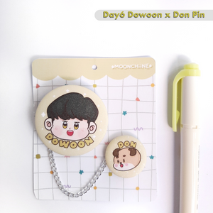[Moonchiine] Day6 Dowoon x Don Button Pins