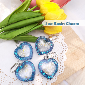 [Moonchiine] Day6 Jae Resin Charm (blue)