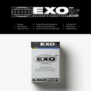[Special Pre-Order] SMTOWN Artists Season's Greetings 2021 - EXO