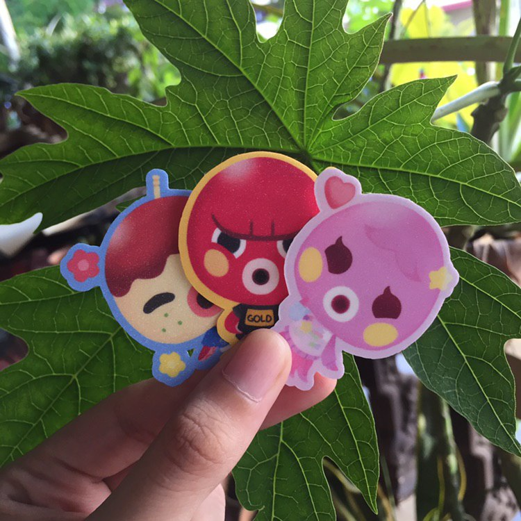 [XOLUNA.PH] XO Animal Crossing: New Horizons Octopus Sticker Pack