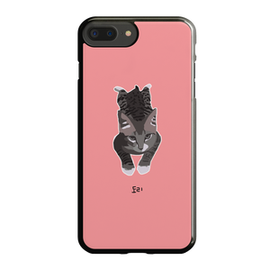 [Fairyslush] [PRE-ORDER] Three Cats 2D Phone Case - Oppo / Vivo